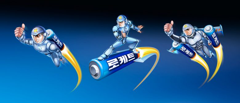 Duracell Asia Character design