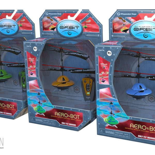 Aerobots Packaging