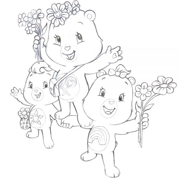 Care Bears - Character Group Study