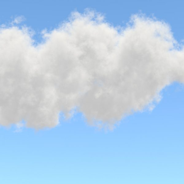 3d Volumetric clouds experiments - from art to design, Inc