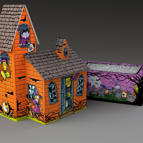 Collectible Haunted House tower package
