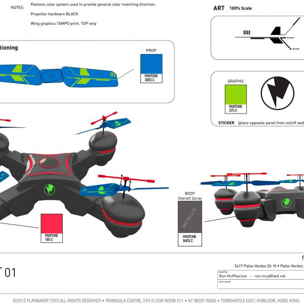 Quadrobot Styling