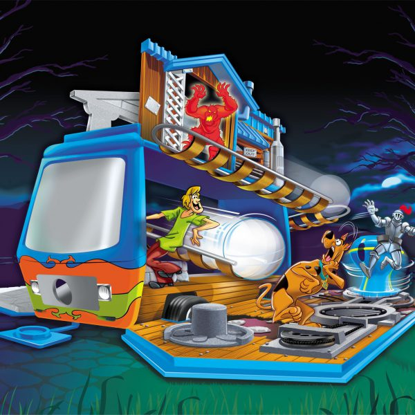 Scooby Doo Toy Packaging Illustration