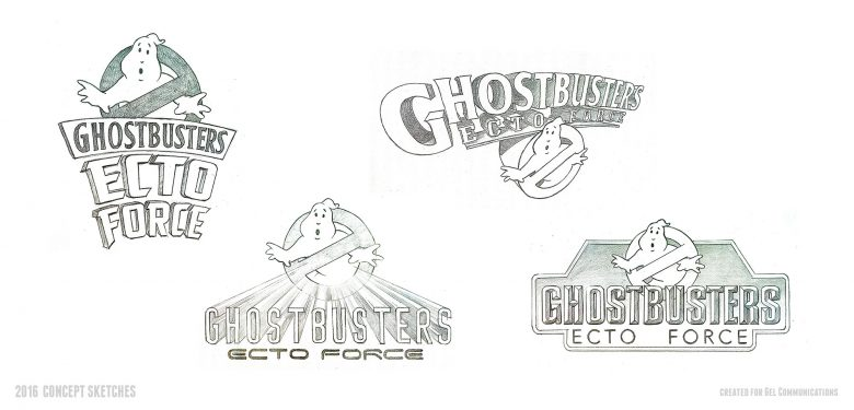 Ghostbusters: Ecto Force Logo Concepts