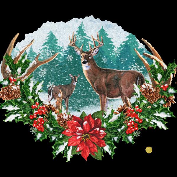 Woodland Christmas Spot