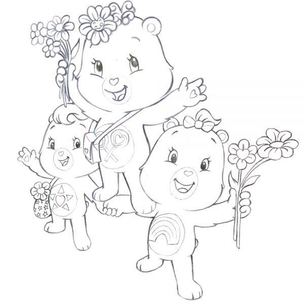 Care Bears - Character Group Study