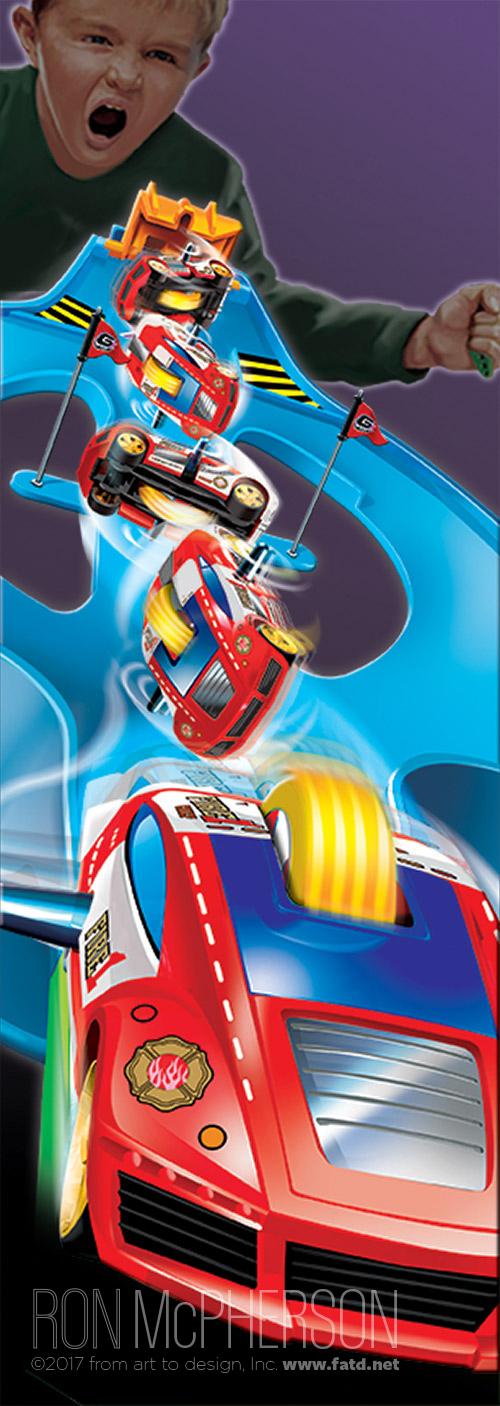 GX Racers Stunt set