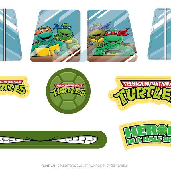 Packaging Decoration Sticker set