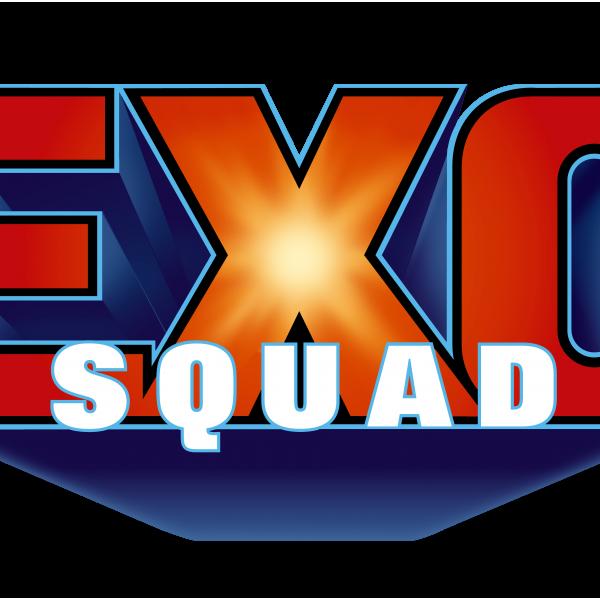 EXOSQUAD™ Toy property Logo for Playmates Toys