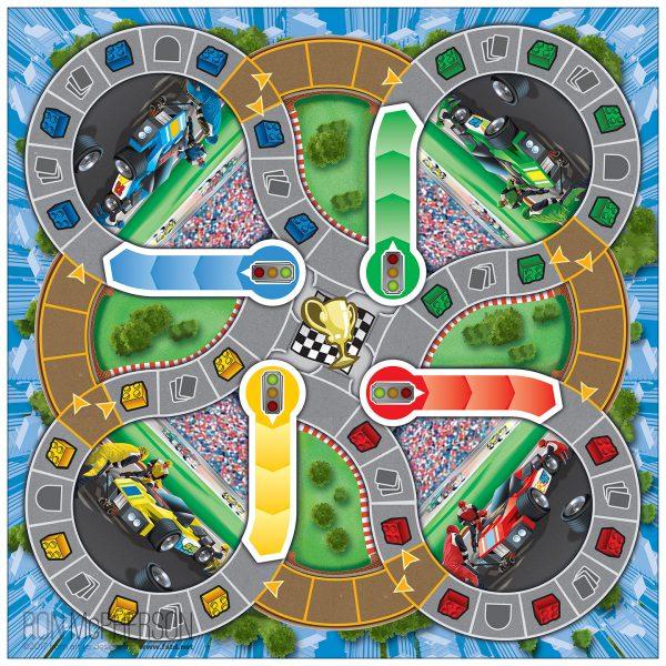 Game Board Illustration