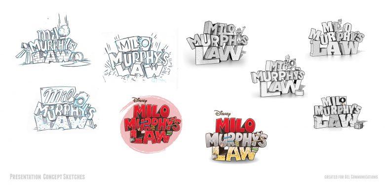 Milo Murphy's Law Concept sketches