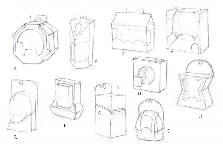 Packaging shape studies