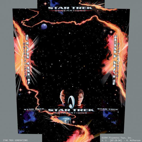 Star Trek Generations Packaging
